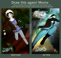 The Hunted  before and after by cookiegirl14