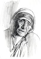 MOTHER TERESA by AbdonJRomero