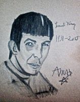 Leonard Nimoy by Ask-theWingsCast