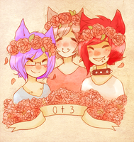 +Flower Crowns and Cat Boys+ by Pajuxi