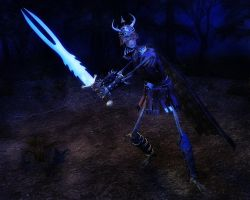 Skeletal Warrior Balach by argel1200
