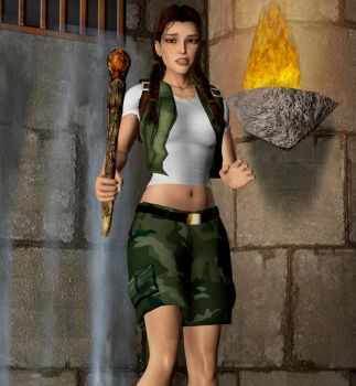 Young Lara 1 by Toshiie1