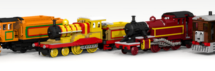Lego: Thomas and friends by ScotNick