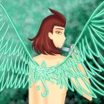 The wings that I did not spread by ShiaSeki-Suishou