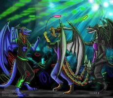 At the club by Ravenfire5
