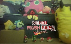 Super Plush Bros Brawl by MarcusWilliams