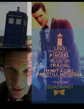 11th doctor (photo edit collage) by allentj