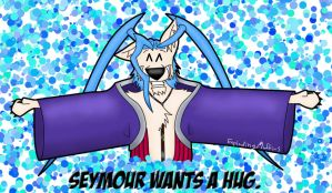 Seymour wants a hug. by explodingmuffins