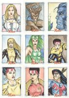 Xmen Archives Sketchcards 14 by Csyeung