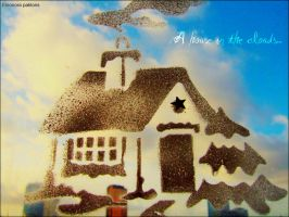 A house in the clouds by Tumbling-Star