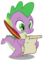 [MLP VECTOR] Spike-writing01 by Light262