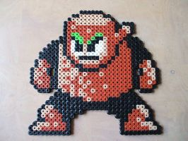 Perler Woodman by NES--still-the-best