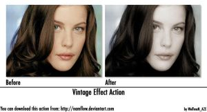 Vintage Effect Action by NamfloW