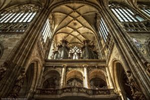 Pipe Organ of St. Veits Dom by pingallery