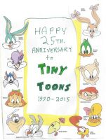 Happy 25th. anniversary to Tiny Toons by dth1971
