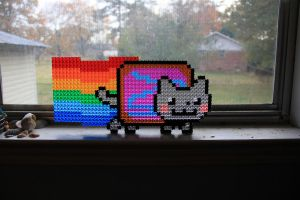 Nyan Cat by Wigglesx