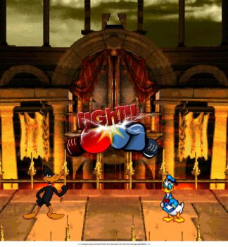 Daffy Duck vs Donald Duck Image for MaxFunnies by Studio8558
