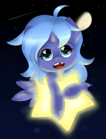 Woona's Pet Star by secret-pony