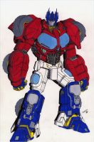 Optimus Prime by CRaZ-K