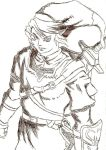 Link Pen Sketch by King-of-Darkness50