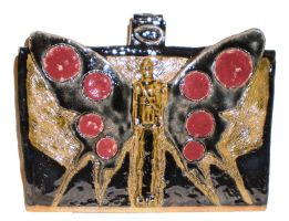 Winged IG-88 Menorah 2 by aberrantceramics