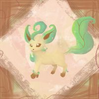 Leafeon by Nesille