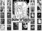 Dreams in Fantasy Collection - Nook Touch by GillianIvy