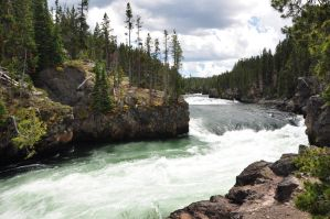 Firehole Falls by BeachGirlNikita