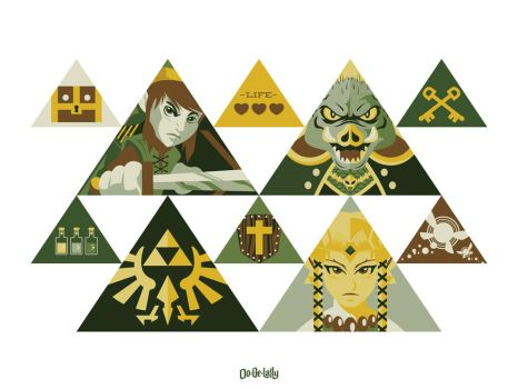 Vector Tri-Force by Weidel