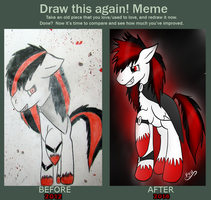 Draw this again meme  x3 by CKittyKat98