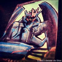 SOUNDWAVE (Transformers Prime) sketchcard by geralddedios