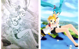 My Drawing to MMD Version...XD by switchdraw