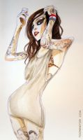 Kat Von D by the-Tooninator