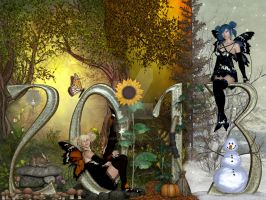 Faerie New Year by DigiCuriosityDesigns