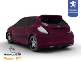Peugeot 207 by AbdAlsalam