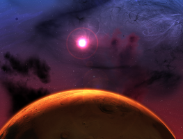 Project universe: Planetary scene by Archange1Michael