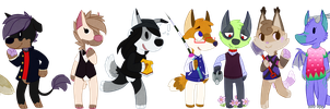 animal crossing style commissions by samuraj-SZADZIK