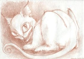 the Cheshire cat by Alice-fanclub