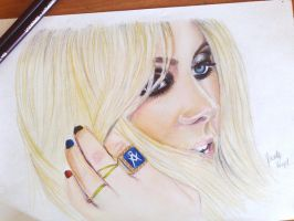 taylor momsen colored II by DeadlyAngel-Drawings