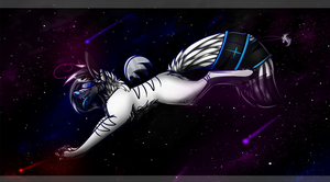 SpaceDust (I'm Just Here For You) by BipolarWolfy