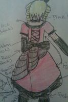 My Lolita Dress Sketch (Back) by Vocaloid01leaklady