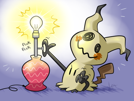 Pikachu used thunderbolt! by Lexcitement