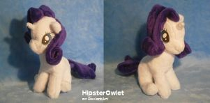 Mini Sitting Rarity Plushie by HipsterOwlet