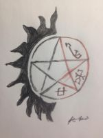 Supernatural Yin Yang by angelholmes
