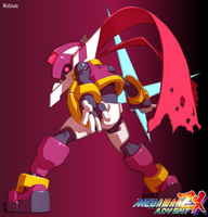 Megaman ZX: Advent - Model P by Wolblade