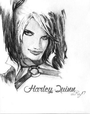 Harley Quinn by aiRoy17