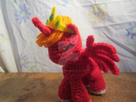 Crochet Princess Big Mac by CrochetHyperbole
