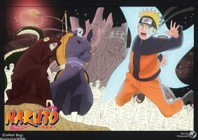 Naruto Chapter 520 Cover by Gomes93k