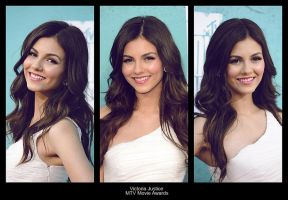 Victoria Justice Frame by KFXFMM