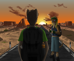 Into The Sunset by Weidie